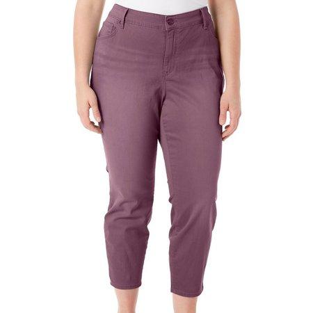 Gloria Vanderbilt Plus Alexandra Crop Ankle Pants