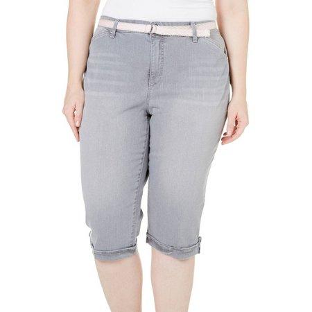 Gloria Vanderbilt Plus Lilian Skimmer Shorts