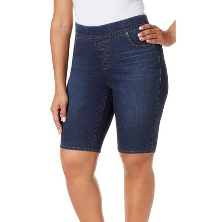 Gloria Vanderbilt Plus Avery Denim Shorts