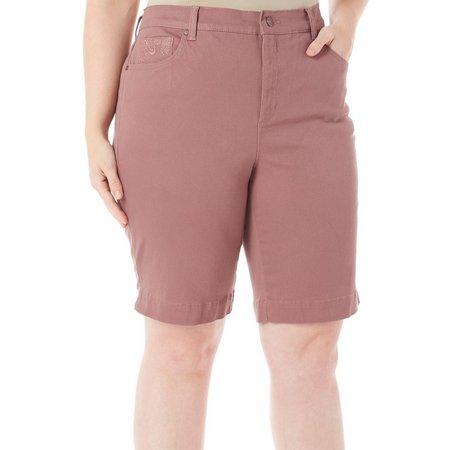 Gloria Vanderbilt Plus Amanda Bermuda Shorts