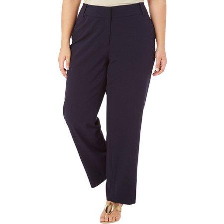 Nue Options Plus Modern Slim Leg Ankle Pants