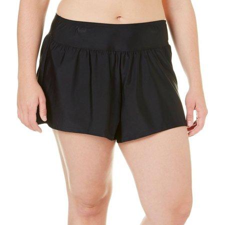 Caribbean Joe Plus Santorini Pleated Swim Shorts