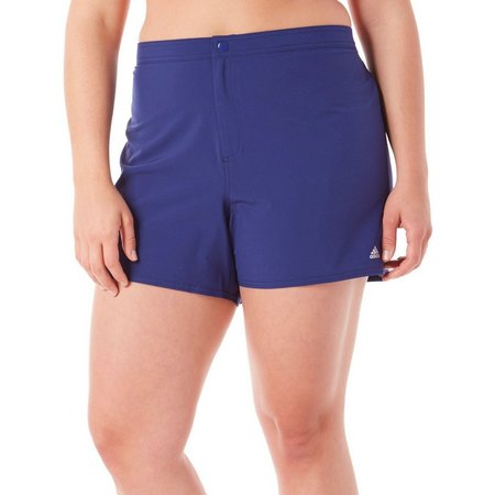 Adidas Plus Solid Start Woven Swim Shorts