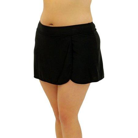 A Shore Fit Plus Wrap Swim Skirt
