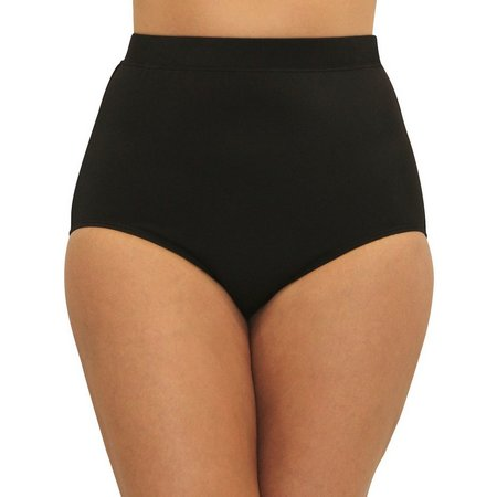 A Shore Fit Plus Control Fabric Swim Bottoms