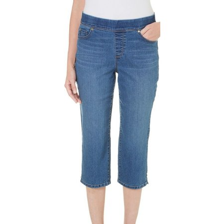 Gloria Vanderbilt Petite Avery Whiskered Capris