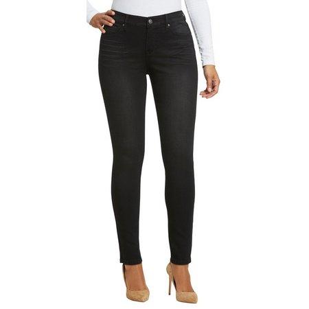 Gloria Vanderbilt Petite Jessa Curvy Whisker Jeans