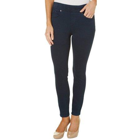 Gloria Vanderbilt Petite Avery Pull-On Slim Jeans