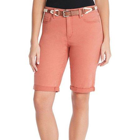 Gloria Vanderbilt Petite Joslyn Solid Shorts