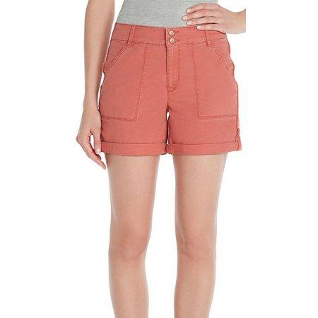 Gloria Vanderbilt Petite Maren Rolled Hem Shorts