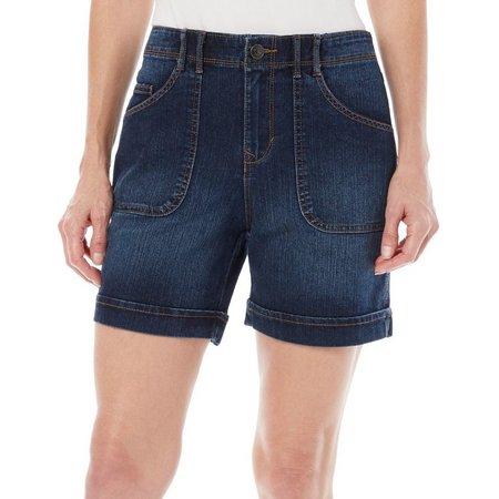 Gloria Vanderbilt Petite Keegan Cuffed Shorts