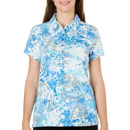Gloria Vanderbilt Petite Annie Houndstooth Shirt