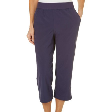 Coral Bay Petite Energy Pull-On Capris
