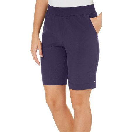 Coral Bay Energy Petite Pull-On Stretch Side Split