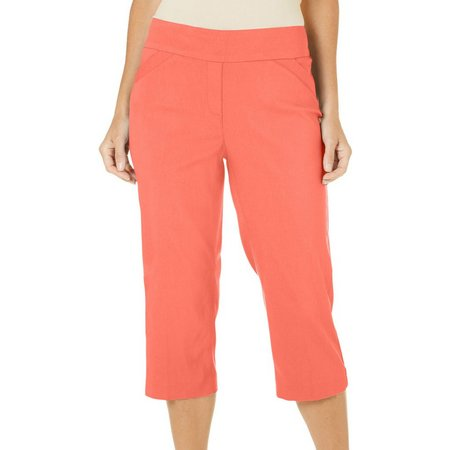 New! Coral Bay Petite Millennium Pull-On Capris