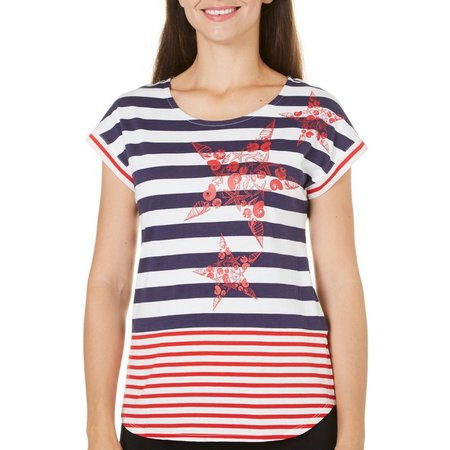 Coral Bay Petite Stars and Stripes Star Stripe