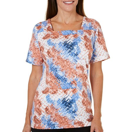 Coral Bay Petite St Augustine Market Track Top