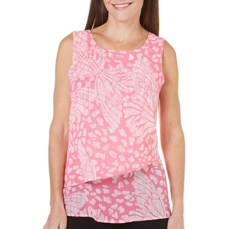 Coral Bay Petite St. Augustine Layered Swing Top