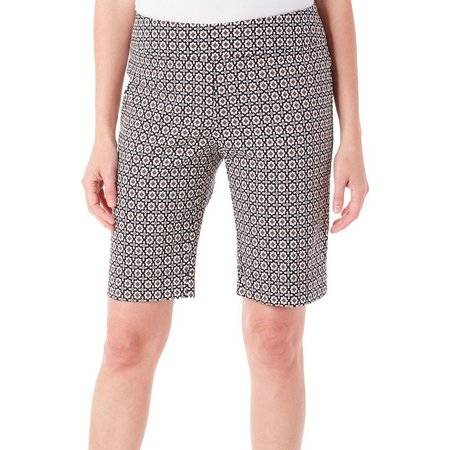 Coral Bay Petite Stretch Printed Shorts