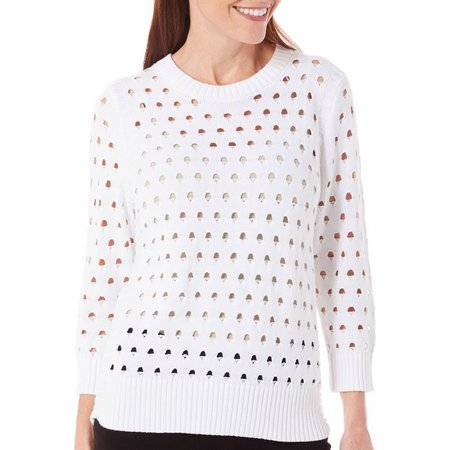Alia Petite Snapdragon Beach Sweater