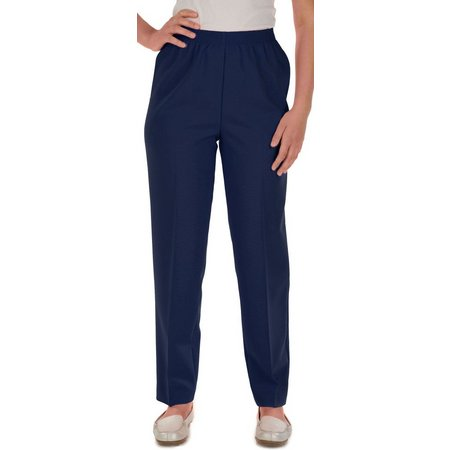 Alia Petite Feather Touch Pull On Pants