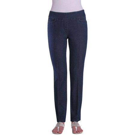 Alia Petite Pull-On Tech Stretch Pants