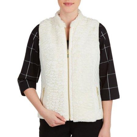 Alia Petite Textured Vest