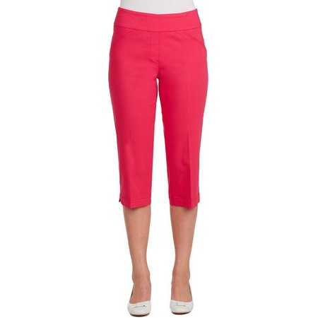 Alia Petite Tech Stretch Tummy Trim Capris