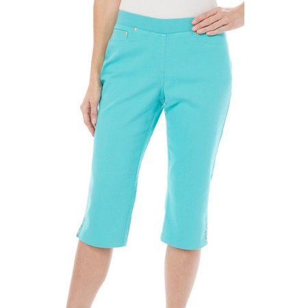 Hearts of Palm Petite Hot Topics Jegging Capris