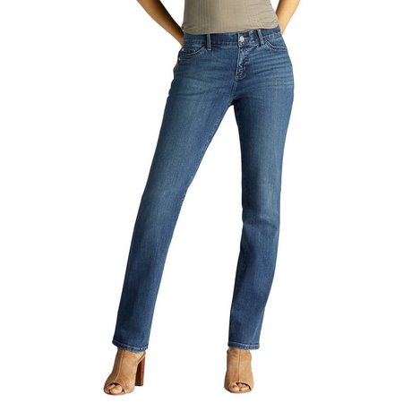Lee Petite Rebound Total Freed Straight Leg Jeans