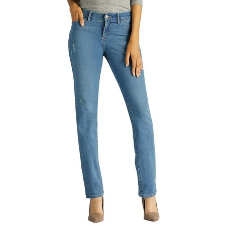 Lee Petite Freed Slim Straigt Leg Jeans