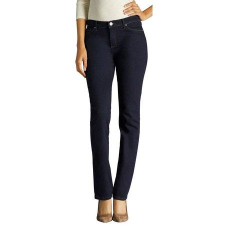 Lee Petite Rebound Slim Straight Jeans