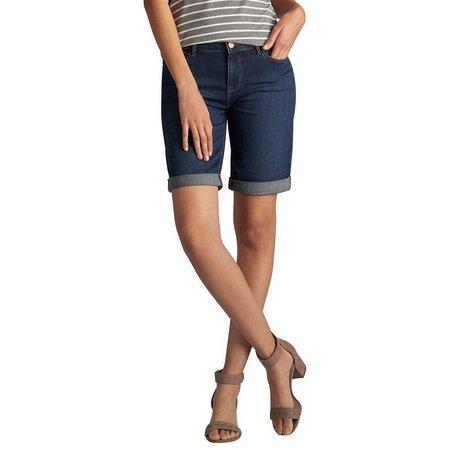 Lee Petite Gunnison Denim Bermuda Shorts