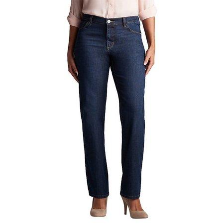 Lee Petite Denim Relaxed Straight Leg Jeans