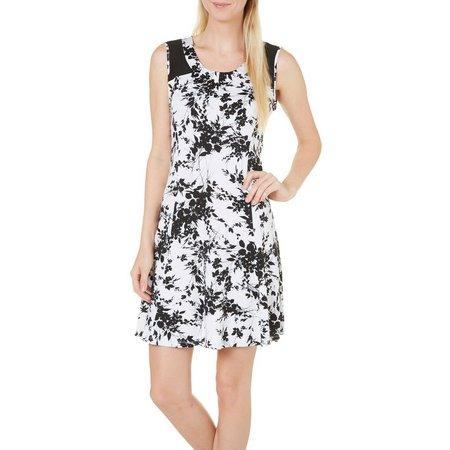 Nue Options Petite Perth Garden Print Dress