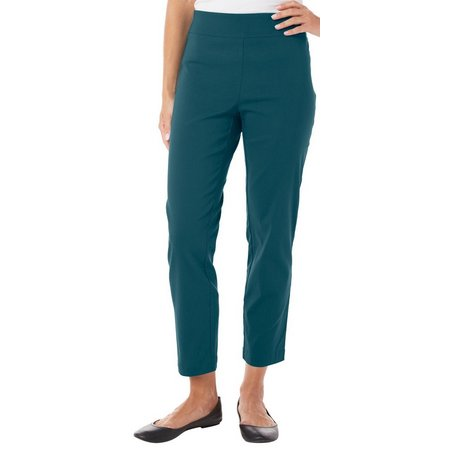 Nue Options Petite Baracoa Solid Stretch Pants