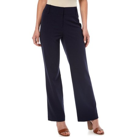 Nue Options Petite Bi-stretch Signature Pants
