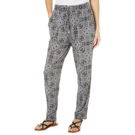 Nue Options Petite Melbourne Paisley Print Pants