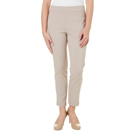 Nue Options Petite Solid Tech Stretch Pull On