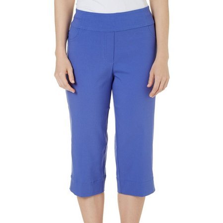 Alfred Dunner Petite Reel It In Stretch Capris