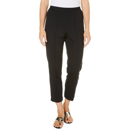 Alfred Dunner Petite Ethnic Beat Solid Pants