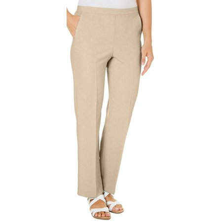 Alfred Dunner Petite Ladies Who Lunch Solid Pants