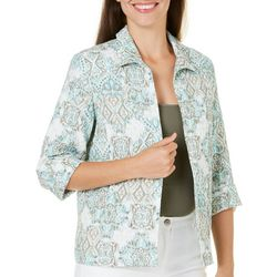 Alfred Dunner Petite Ladies Who Lunch Jacket