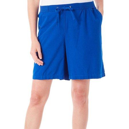 Cathy Daniels Womens Pull-On Drawstring Shorts
