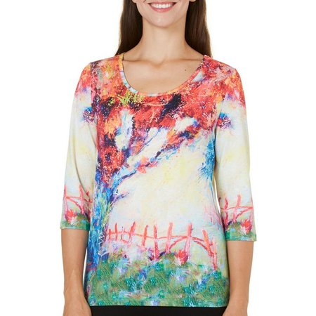Leoma Lovegrove Petite Tree Of Life Scenic Top
