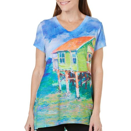 Leoma Lovegrove Petite Fortress of Solitude Top