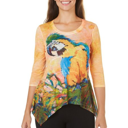 Leoma Lovegrove Petite Soloman Scoop Neck Top