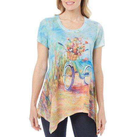 Leoma Lovegrove Petite Beachin' Ride Top