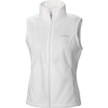 Columbia Petite Benton Springs Zip Fleece Vest