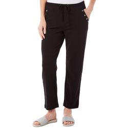 SPORTELLE Petite Hot Right Now French Terry Pants